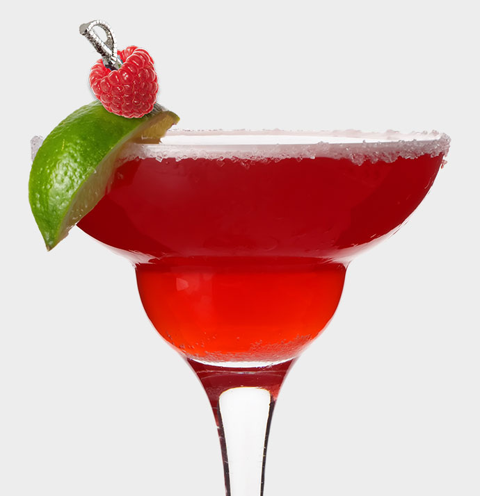 Chilled Raspberry Margarita
